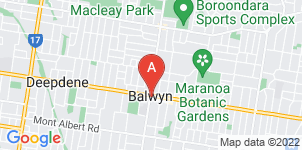 Google static map for Allison Monkhouse, Balwyn