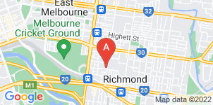 Google static map for Australian Pensioner Funerals