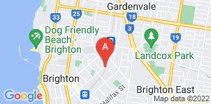 Google static map for Allison Monkhouse, Brighton