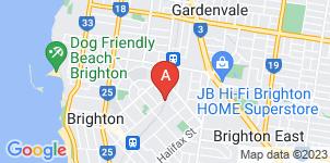 Google static map for Allison Monkhouse, Brighton