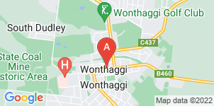 Google static map for Milkins Funeral Services