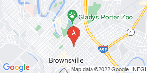 Google static map for Garza Memorial Funeral Home, Brownsville