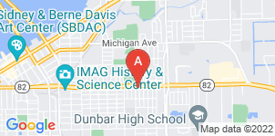 Google static map for Hickson Funeral Home