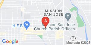 Google static map for Olinger - Saenz Mortuary Services