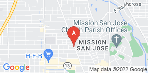 Google static map for Southside Funeral Home