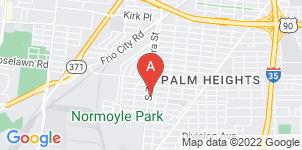 Google static map for SouthWest Funeral Home