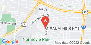 Google static map for Palm Heights Mortuary
