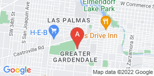 Google static map for Funeraria Del Angel Trevino Funeral Home, Cupples