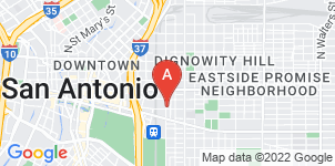Google static map for La Paz Funeral Home