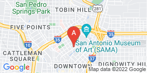 Google static map for Angelus Funeral Home