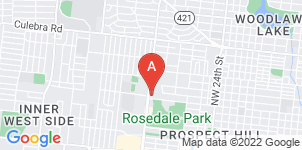 Google static map for Castillo Mission Funeral Home