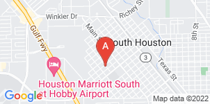 Google static map for Carnes Funeral Home, South Houston