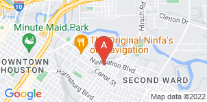 Google static map for Cristo Rey Funeral Home