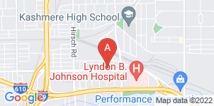 Google static map for Kashmere Gardens Funeral Home