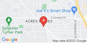 Google static map for Morgan Harris Funeral Home
