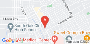 Google static map for Paradise Funeral Home