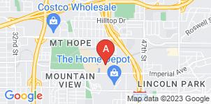 Google static map for Greenwood Memorial Park & Mortuary