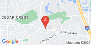 Google static map for Black & Clark Funeral Home