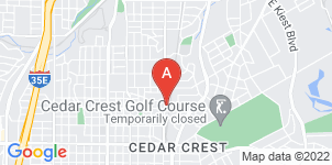 Google static map for Randall's Funeral Home