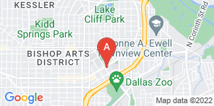 Google static map for Hughes Funeral Homes