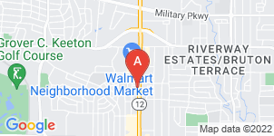 Google static map for Carillo Funeral Home