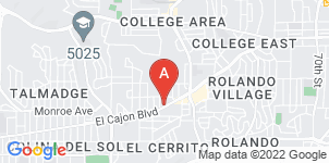 Google static map for California Cremation & Burial