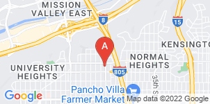 Google static map for Balboa Cremation Services