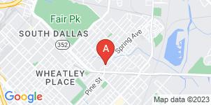 Google static map for Pipkins Memorial Funeral Home