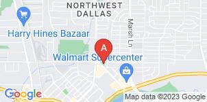 Google static map for Hughes Family Tribute Center