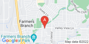 Google static map for North Dallas Funeral Home