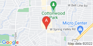 Google static map for Rahma Funeral Home