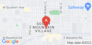 Google static map for South Mountain Mortuary