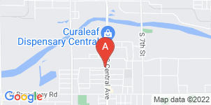 Google static map for Preston Funeral Home