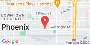 Google static map for Harper Funeral Home