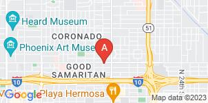 Google static map for Samaritan Funeral Home