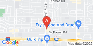 Google static map for Abel Funeral Services