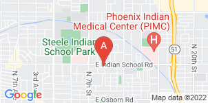 Google static map for La Paz Funeral Home, Indian School Rd