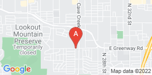 Google static map for Shadow Mountain Mortuary