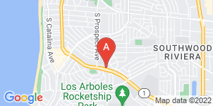 Google static map for McCormick Mortuary, Redondo Beach