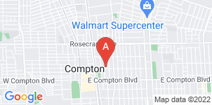 Google static map for Adams Funeral Home