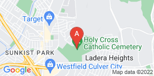 Google static map for Holy Cross Mortuary
