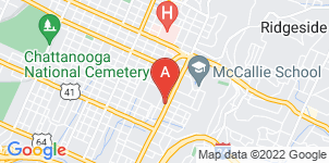 Google static map for John P Franklin Funeral Home