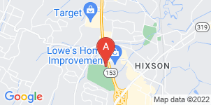 Google static map for Chattanooga Funeral Home