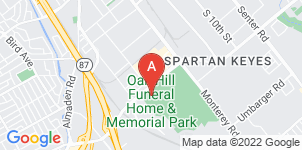 Google static map for Oak Hill Memorial Park And Funeral Home
