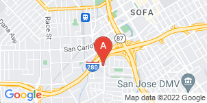 Google static map for Casa Funeral