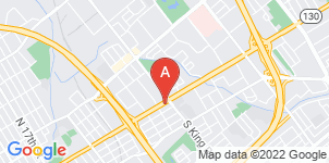Google static map for Martinez Family Funeral Home