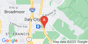 Google static map for Colma Cremation and Funeral Services