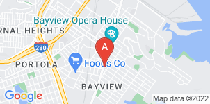 Google static map for Bayview Funeral Home