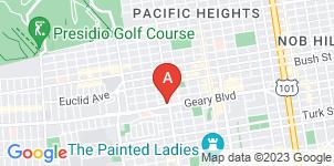Google static map for Sinai Memorial Chapel, San Francisco