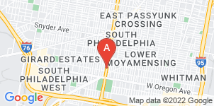 Google static map for Monti Rago Funeral Home